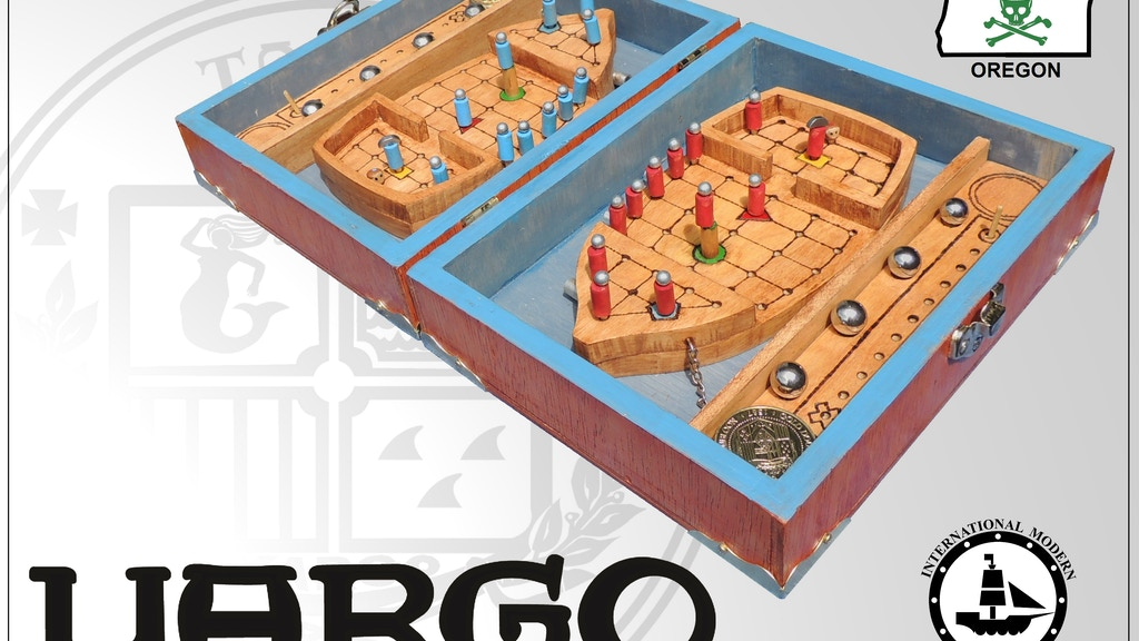 YARGO: The Ultimate Pirate Board Game project video thumbnail