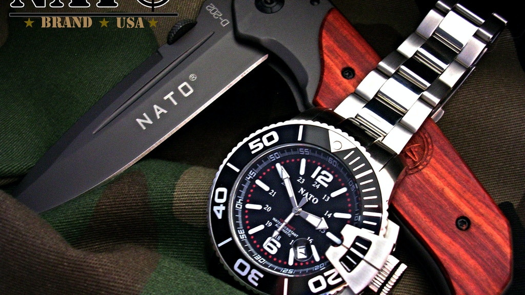 NATO® Tactical Survival™ MIL-DIVER™ Watch by NATO Brand