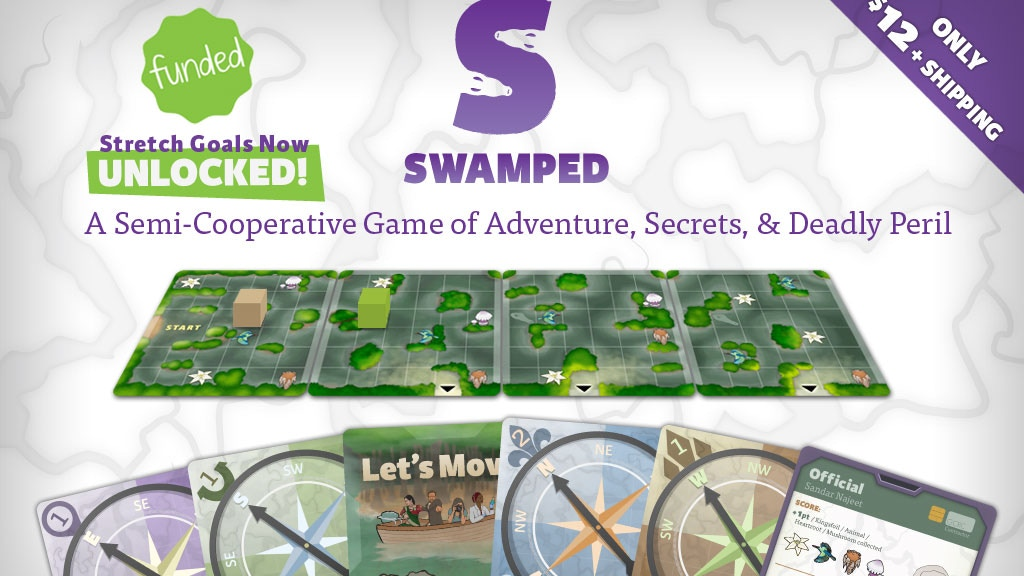 Swamped: A Game of Adventure, Secrets and Deadly Peril project video thumbnail