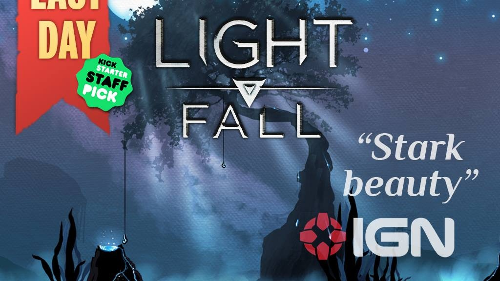 LIGHT FALL - Escape the light, Embrace the night project video thumbnail