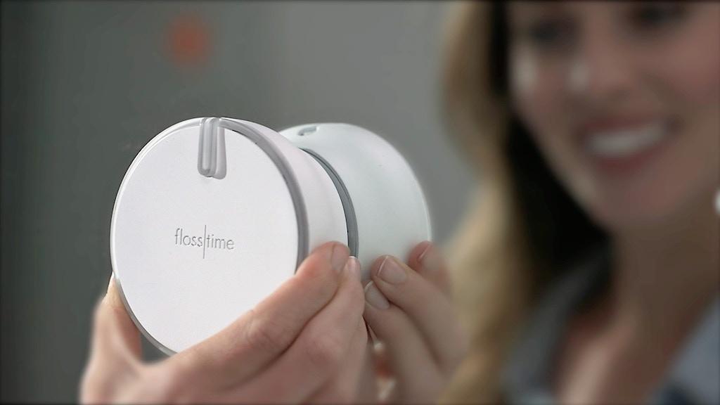 Flosstime - World's First Smart Floss Dispenser project video thumbnail
