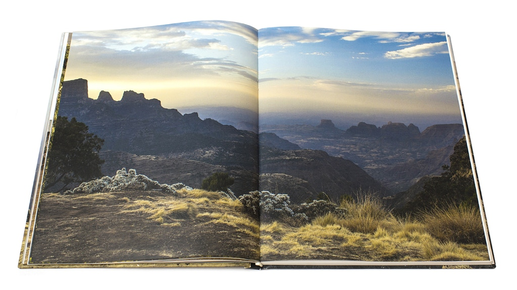 Simien Mountains photography book project video thumbnail