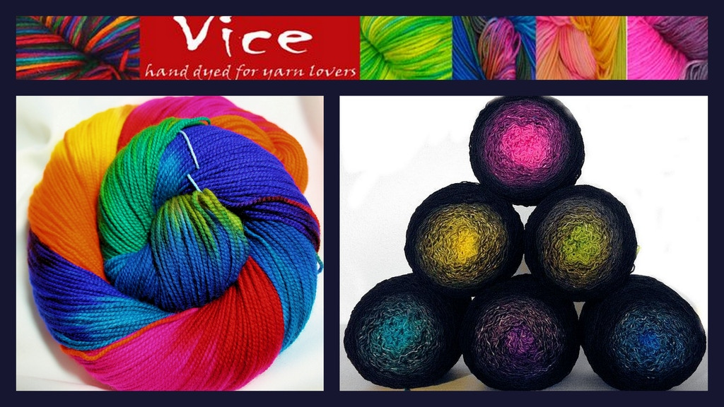 Vice Yarns - a little vice is always nice project video thumbnail