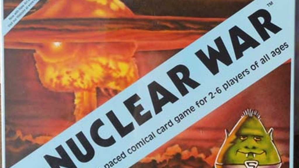 Nuclear War Card Game 50th Anniversary Edition project video thumbnail