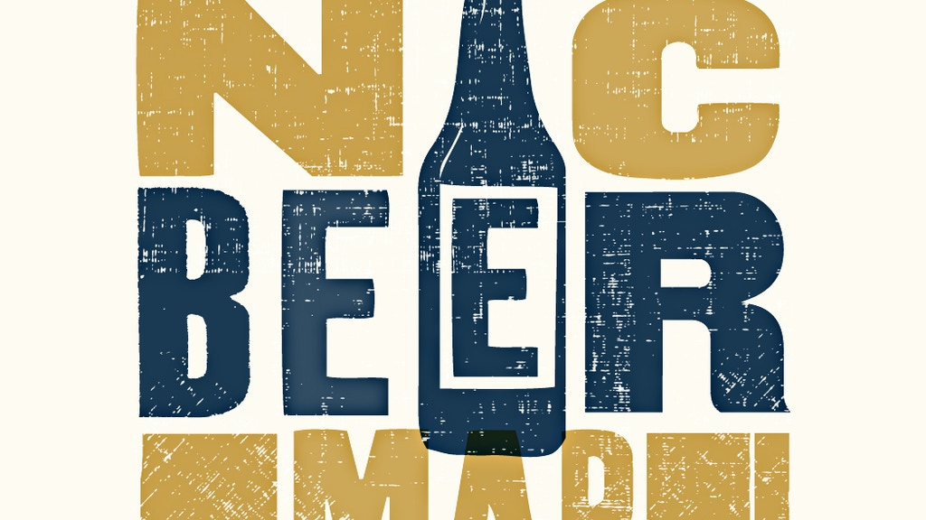 The Great NC Beer Map project video thumbnail