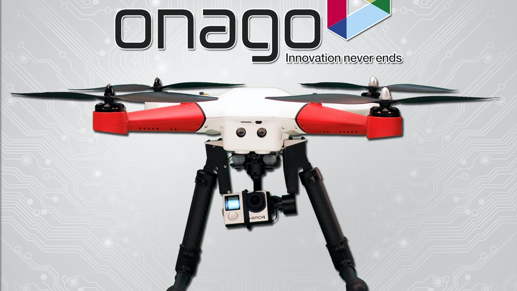 Project image for Onago: Intelligent Auto-follow Drone with Camera (Canceled)