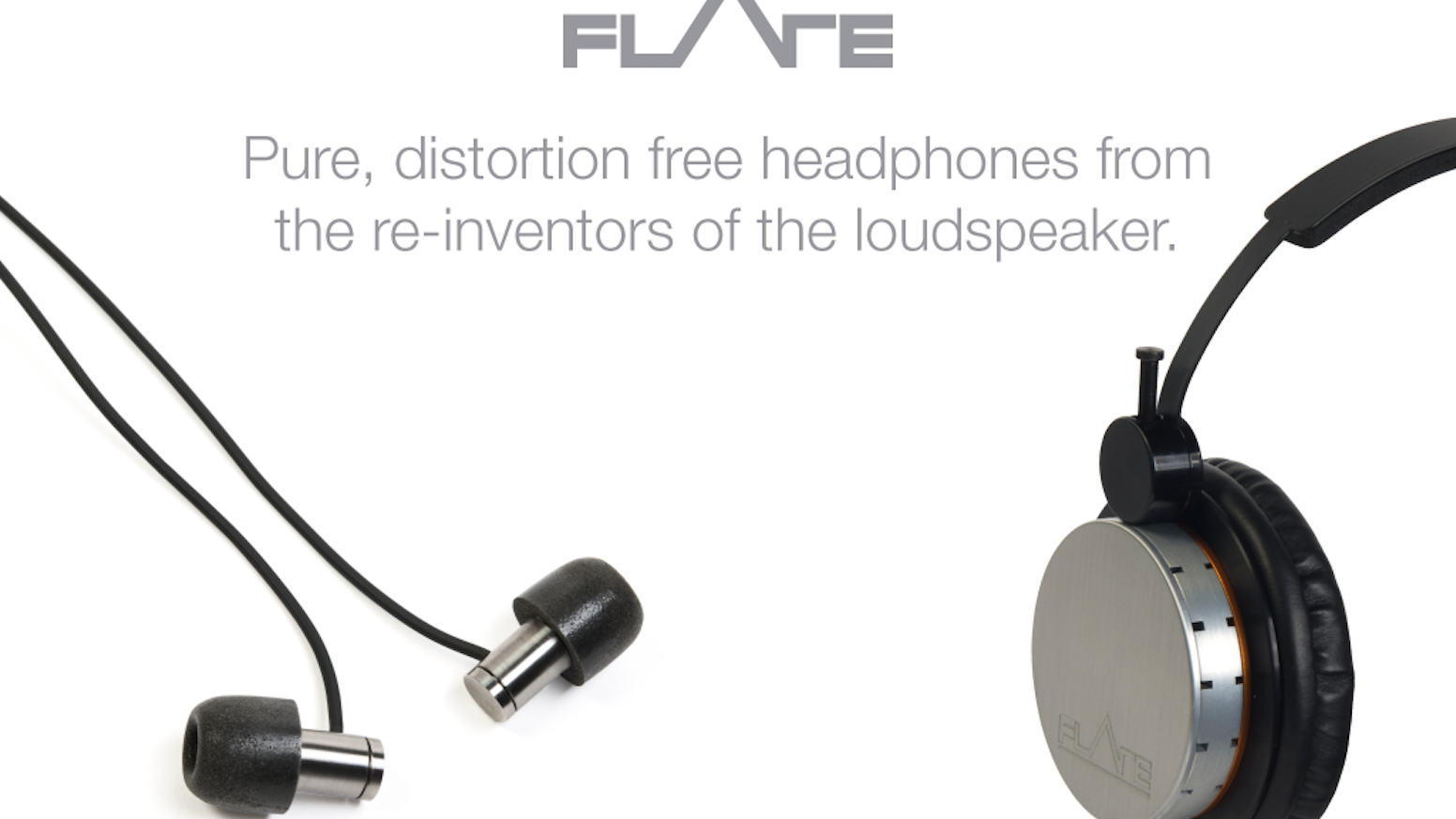 Distortion free, pressure-balanced IEM in-ear earphones and headphones from the re-inventors of the loudspeaker.