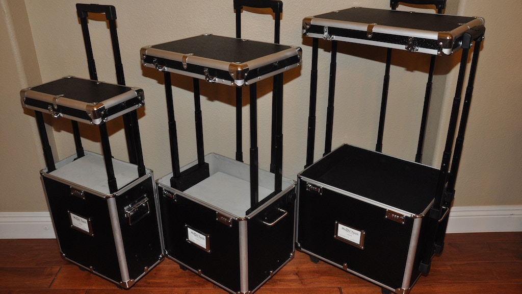 McChi Luggage: It's a Luggage, USB Charger and a Table Top project video thumbnail
