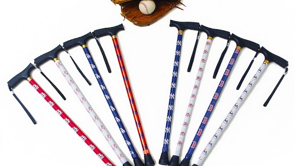 Project image for Ball Park 'Major League Baseball' Brand of walking canes!