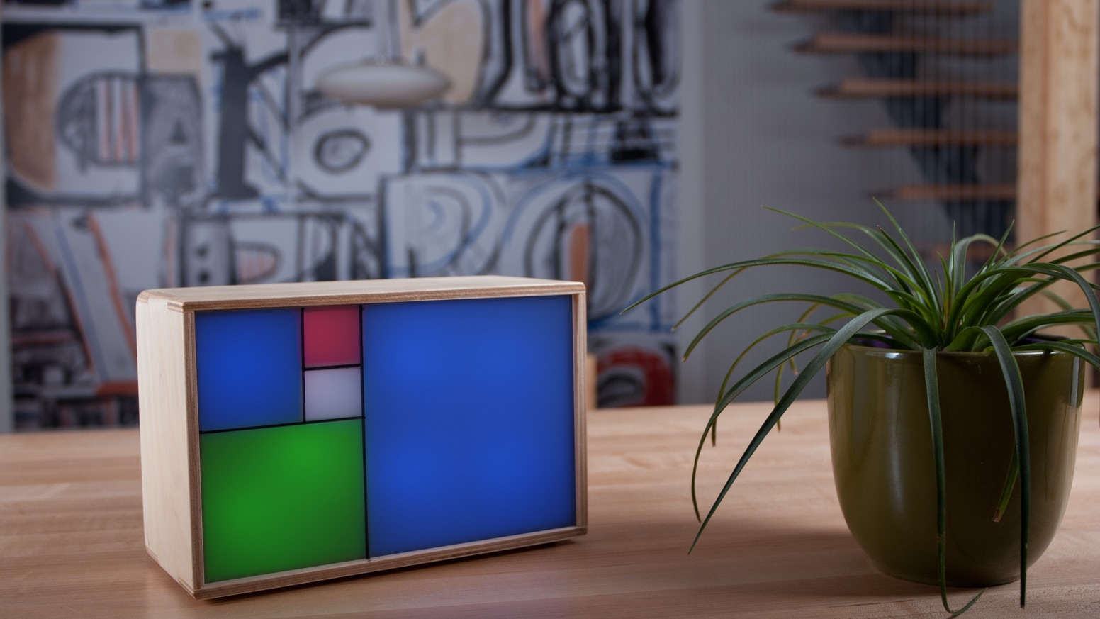 Fibonacci Clock An Open Source For Nerds With Style By Circuit Board Picture Frames These Are Awesome A Geeky Philippe Chrtien Kickstarter