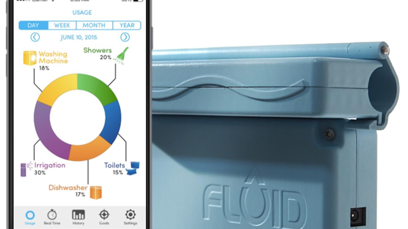 FLUID - The Learning Water Meter by FLUID — Kickstarter