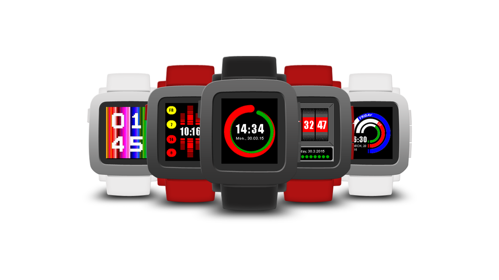 Lignite Collection for Pebble - Quality Watchfaces and Apps project video thumbnail