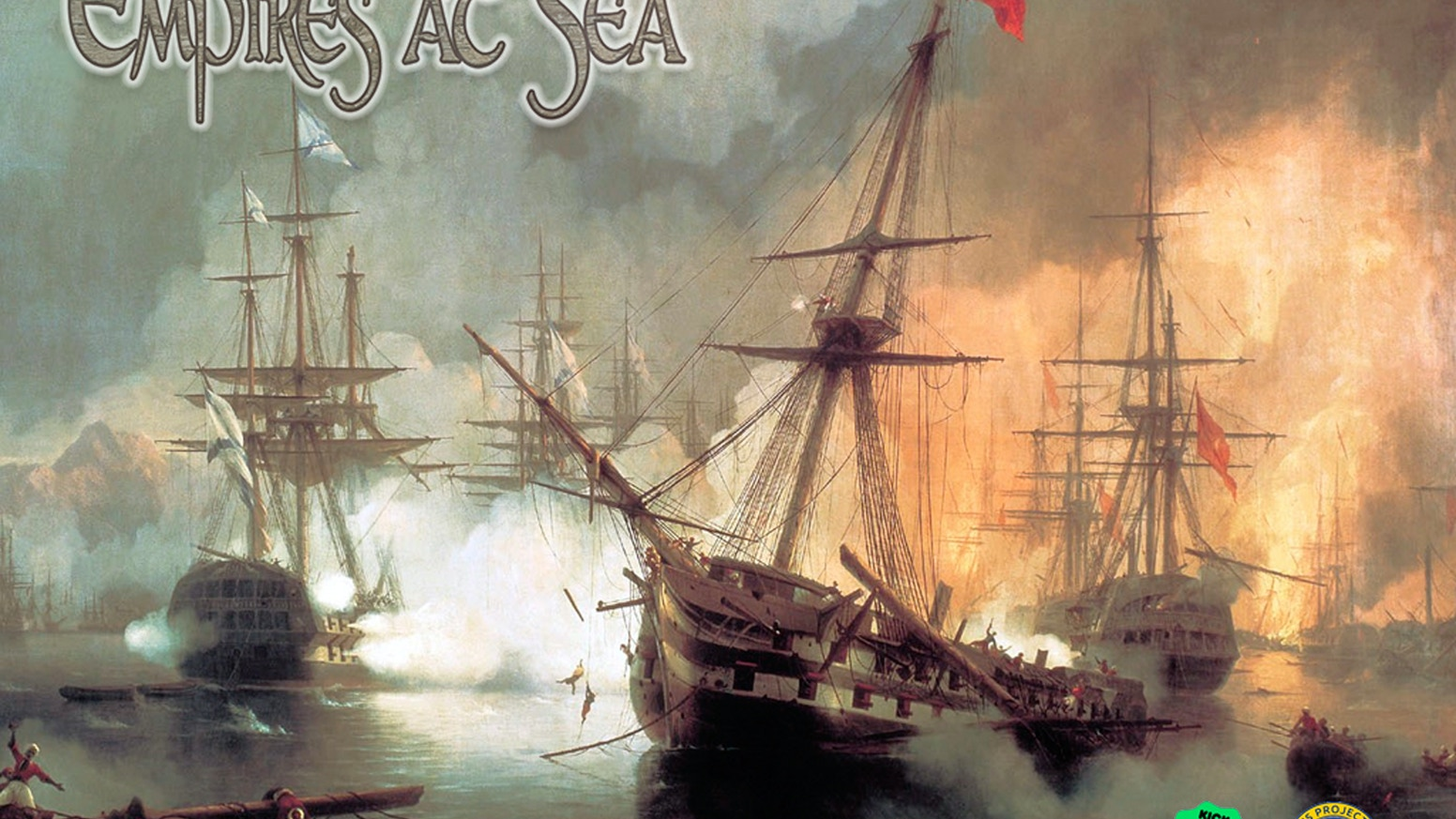Empires at Sea: An Epic duel across the Seven Seas. A game of trade, exploration, and war. And pirates. Don't forget about pirates.