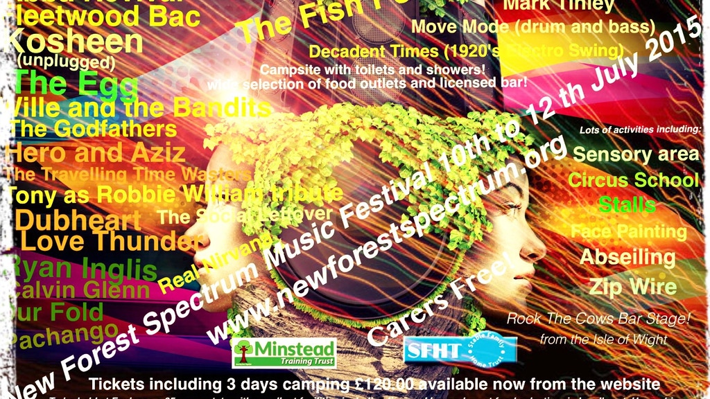 Project image for National Music festival for ppl with learning disabilities
