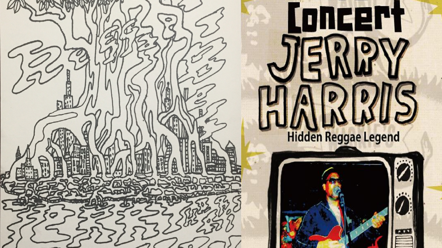 Hidden Reggae Legend Jerry Harris New Release Party in NYC