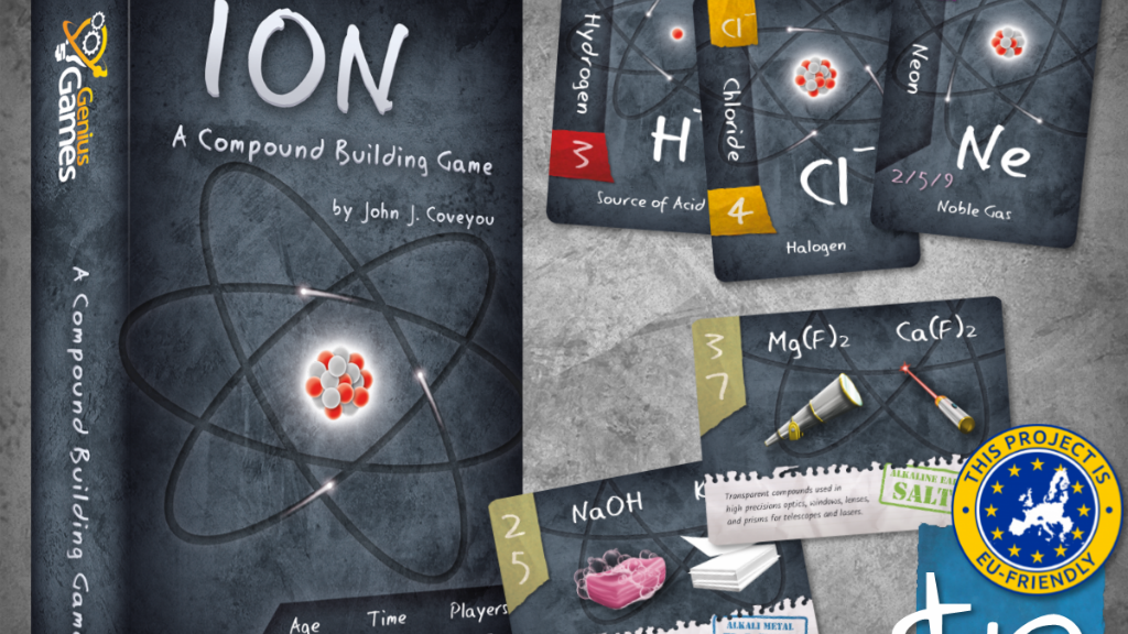 Ion: A Compound Building Game by John Coveyou (Genius Games