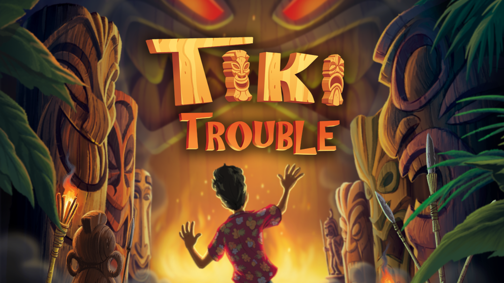Tiki Trouble: Original Illustrated Adventure Storybook project video thumbnail