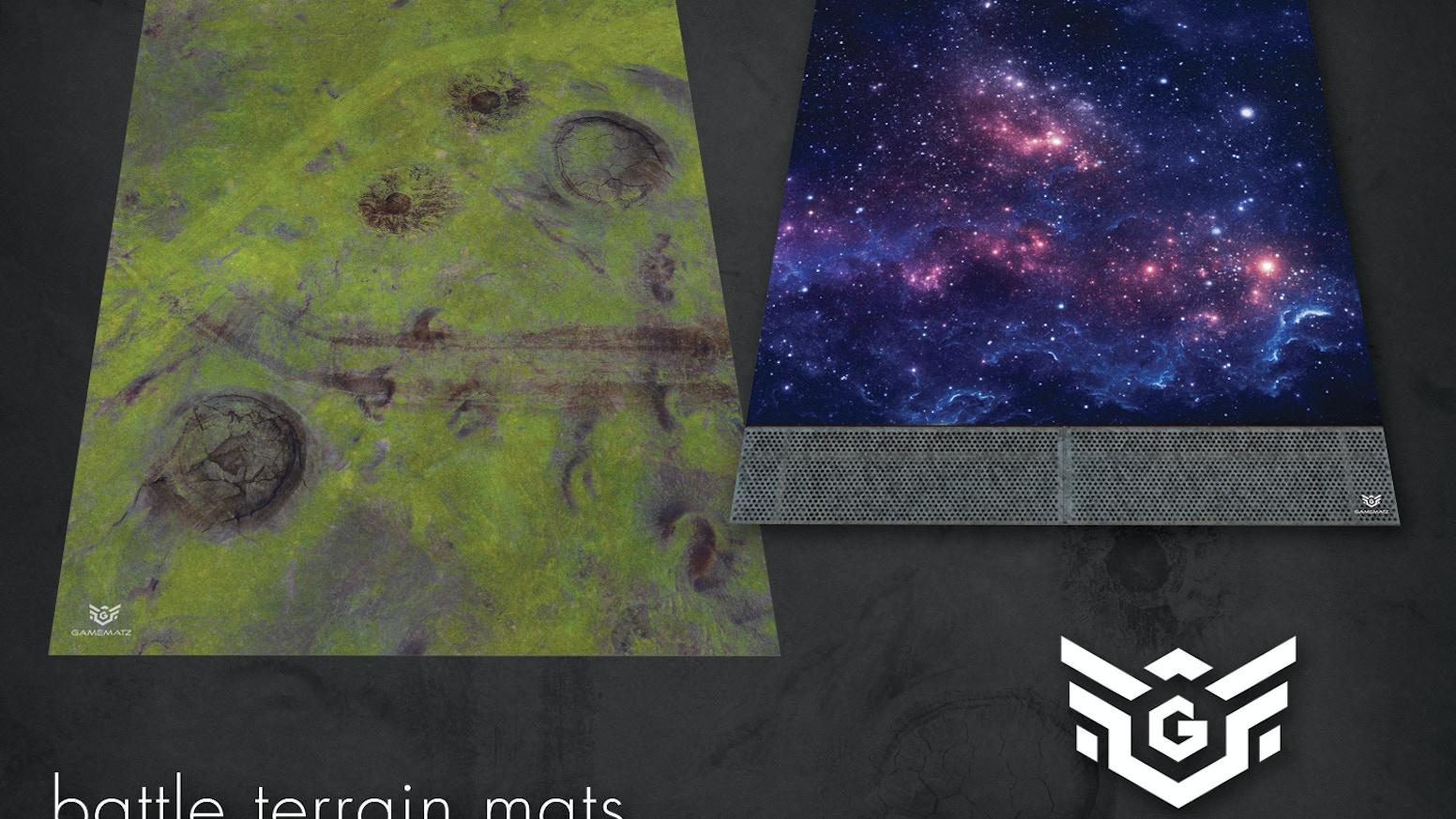GameMatz - Gaming Terrain Game Mats by GameMatz » Mat Sizes