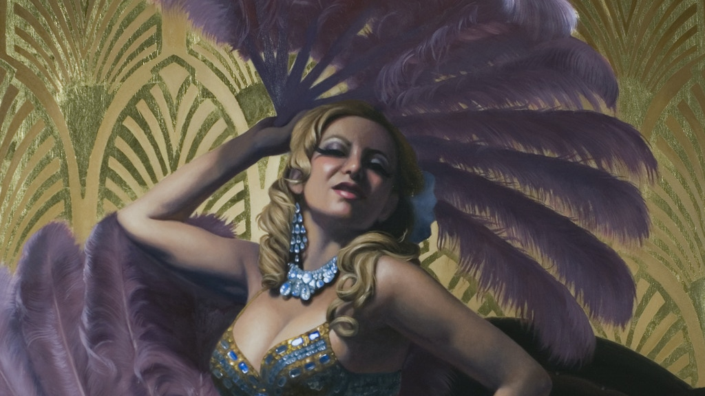 Oil Paintings of New York's Burlesque project video thumbnail
