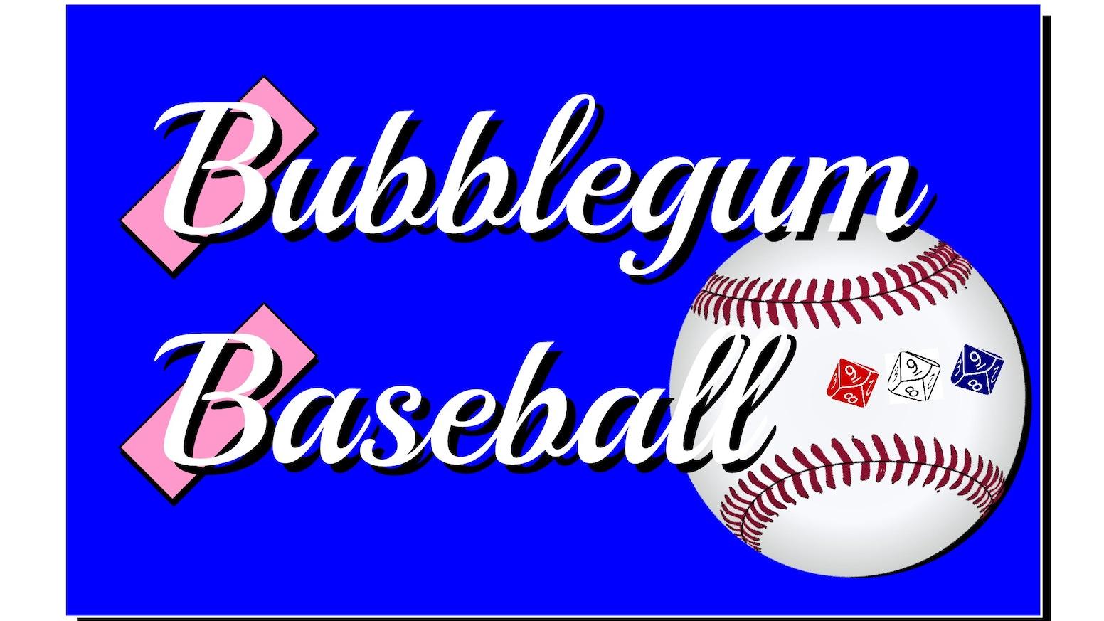 Bubblegum Baseball By Knuckledown Press Llc Print And Play