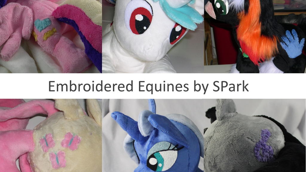 Embroidered Equines, 20% Cooler Pony Plushes project video thumbnail