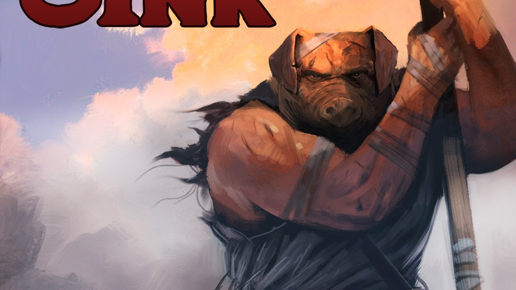 OINK Hardcover Graphic Novel project video thumbnail