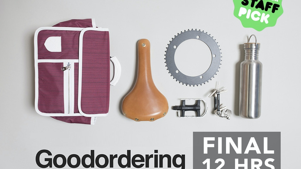 Goodordering Bike bags 2.0 project video thumbnail