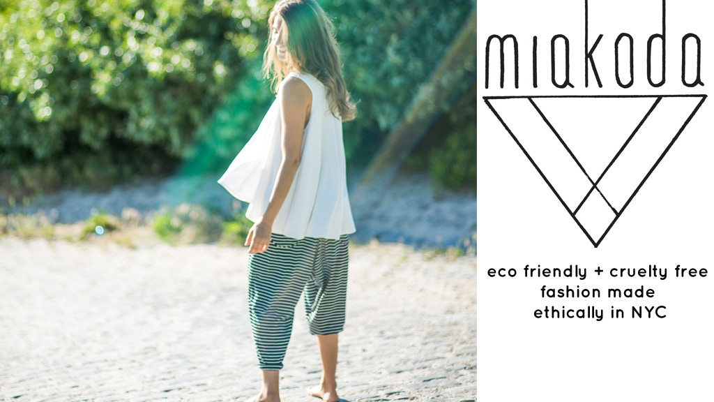 Eco Friendly + Cruelty Free Clothing Made in NYC project video thumbnail