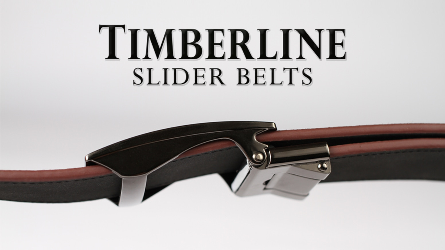 Timberline Slider Belts offer limitless adjustment options for maximum comfort and style.