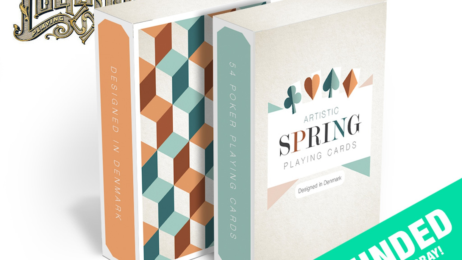 Artistic Spring Playing Cards by Nicolai Aarøe » Dominus is