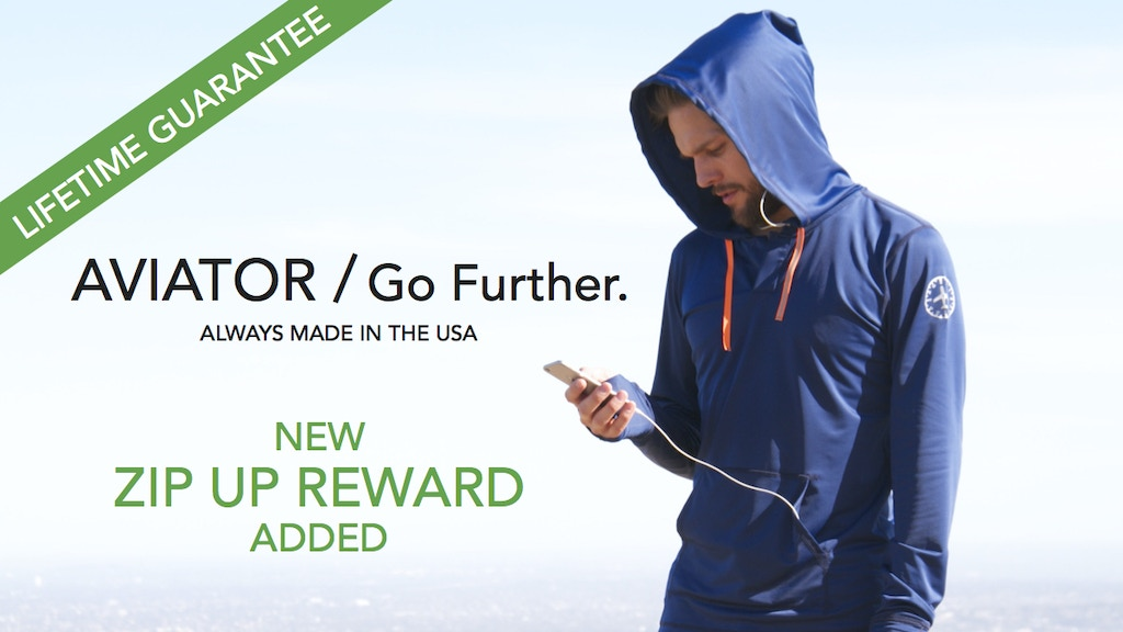 The High Performance Hoodie: Go Further. project video thumbnail
