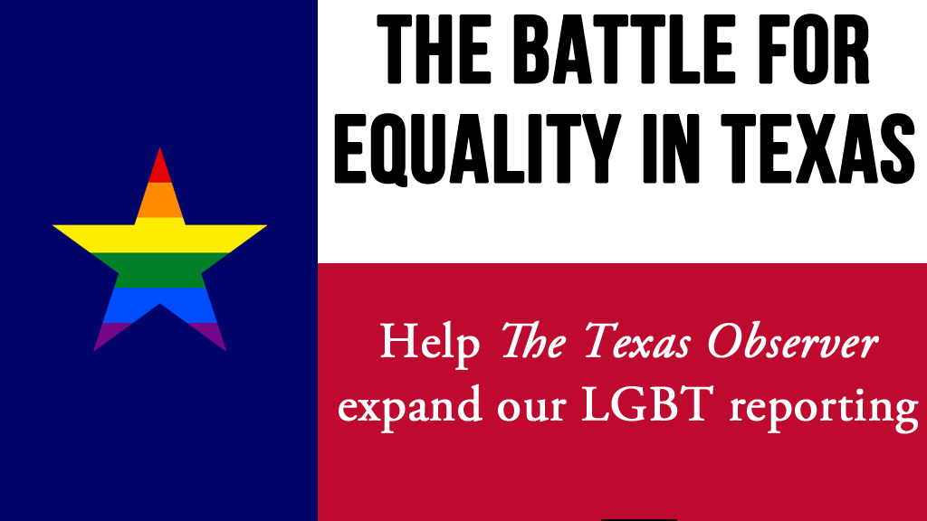 Covering the Battle for Equality in Texas project video thumbnail