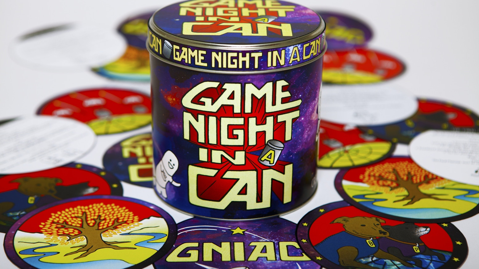 All you need is Paper, Pens, and a Handful of Friends. For the greatest game nights of your life...