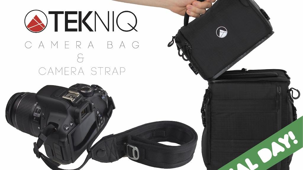 TEKNIQ - A Camera Strap / Cuff and  Modular Camera Bag project video thumbnail