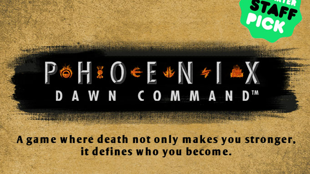 Phoenix: Dawn Command - a card based role playing game project video thumbnail