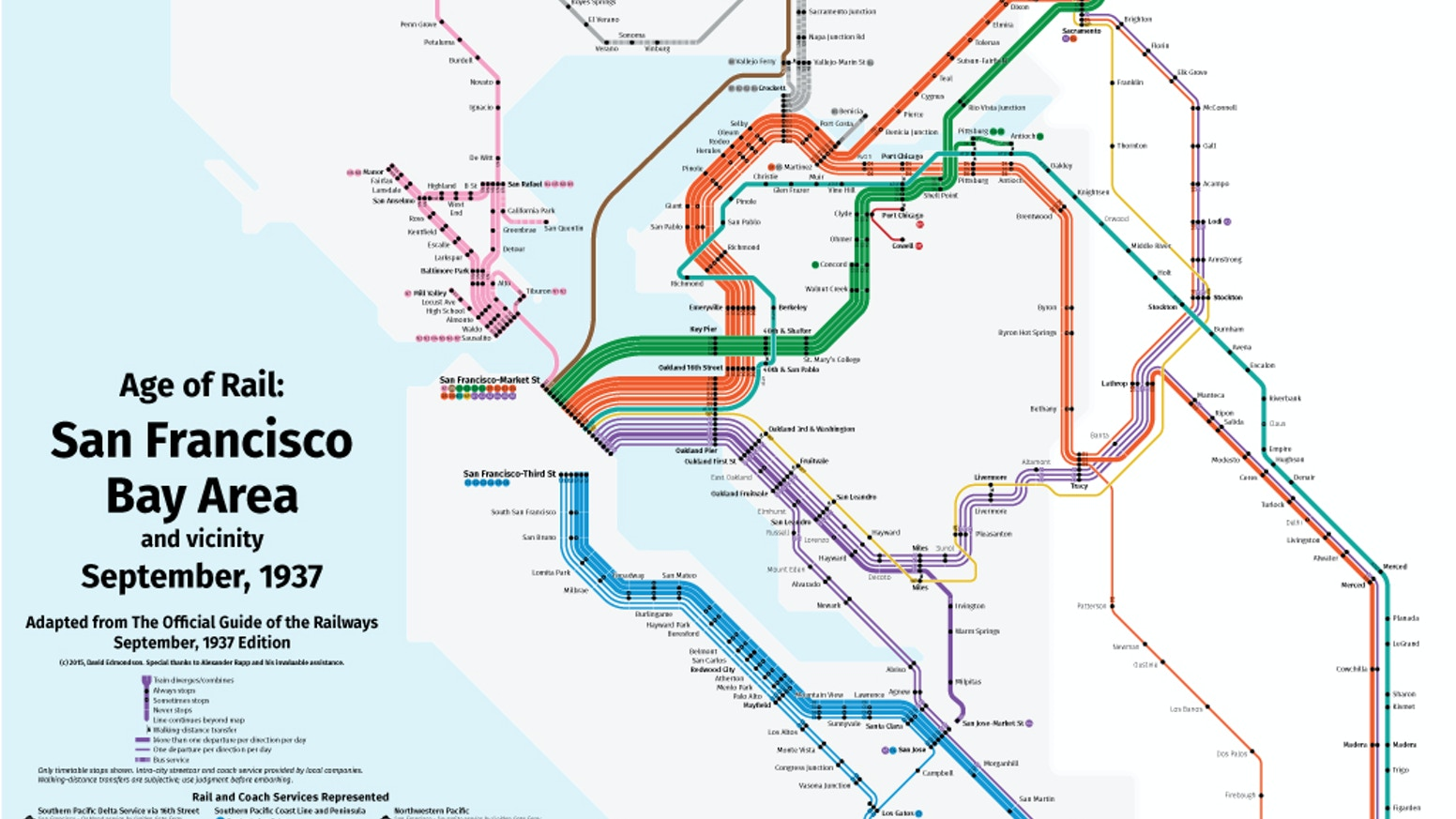 new maps of historic north american railroads by david edmondson
