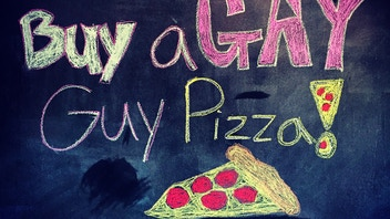 Buy A Gay Guy Pizza!