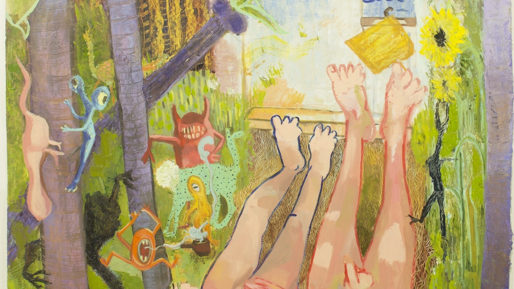 Kaitlyn Malloy- Artist Residency at the Pantocrator Gallery project video thumbnail