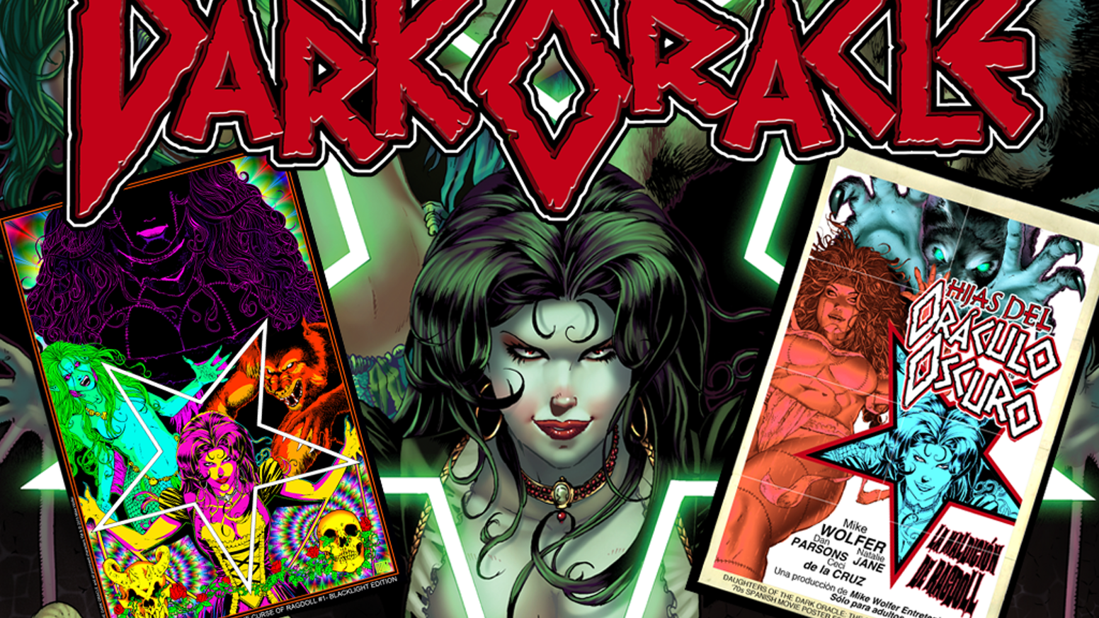 Blood will be spilled as Ragdoll, Countess Bathory and more are unleashed in the new comic series from Mike Wolfer Entertainment!