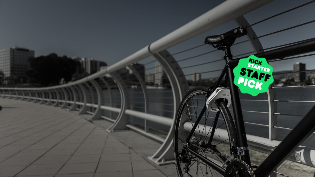 LINKA : World's First Auto-Unlocking Smart Bike Lock project video thumbnail