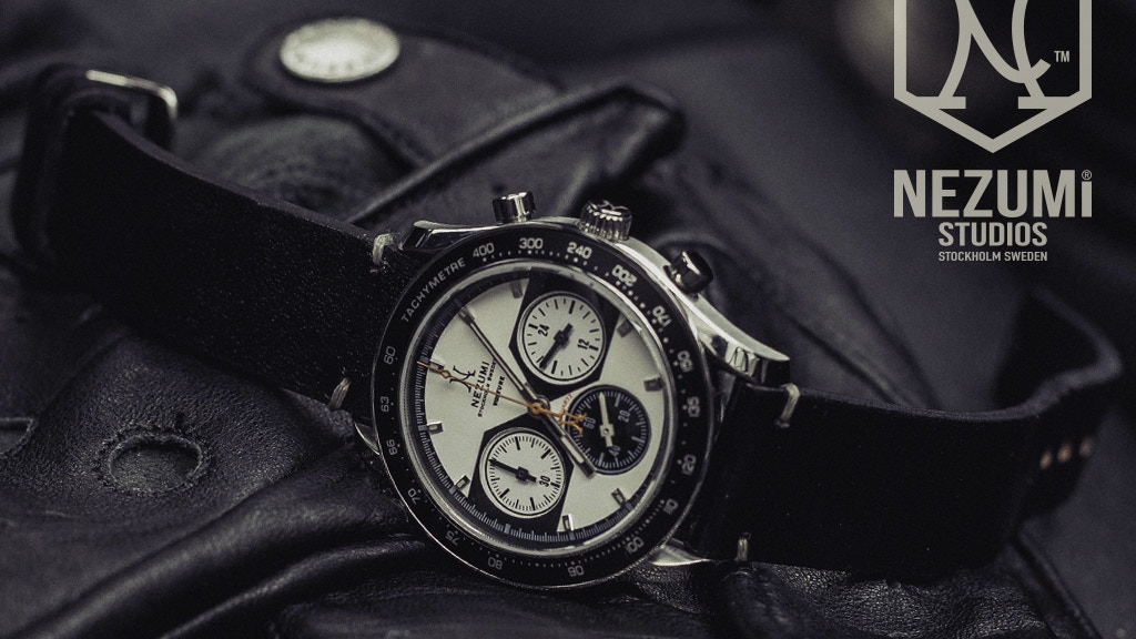 NEZUMI® Voiture - A True Classic Racing Chronograph Watch project video thumbnail