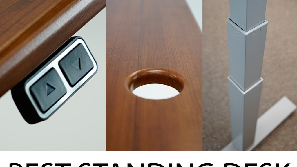 Sleek New Compact Electric Standing Desk Design- $379! project video thumbnail