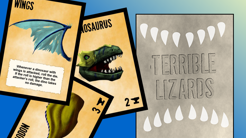 Terrible Lizards - The Game of Do-It-Yourself Dinosaurs! project video thumbnail