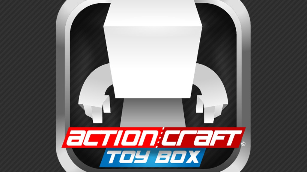 """ActionCraft Toy Box : The """"Create Your Own Paper Toy"""" App! project video thumbnail"""