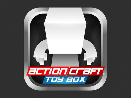 Actioncraft toy box the create your own paper toy app for Create and craft app