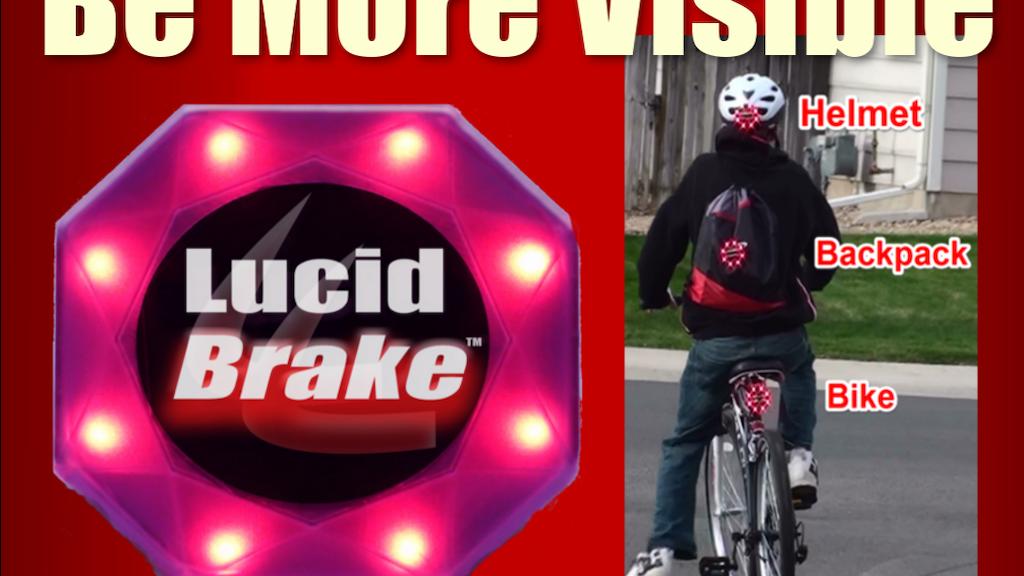 LucidBrake 2.0-Motion-Sensing, Press-On Bicycle BRAKE Light project video thumbnail