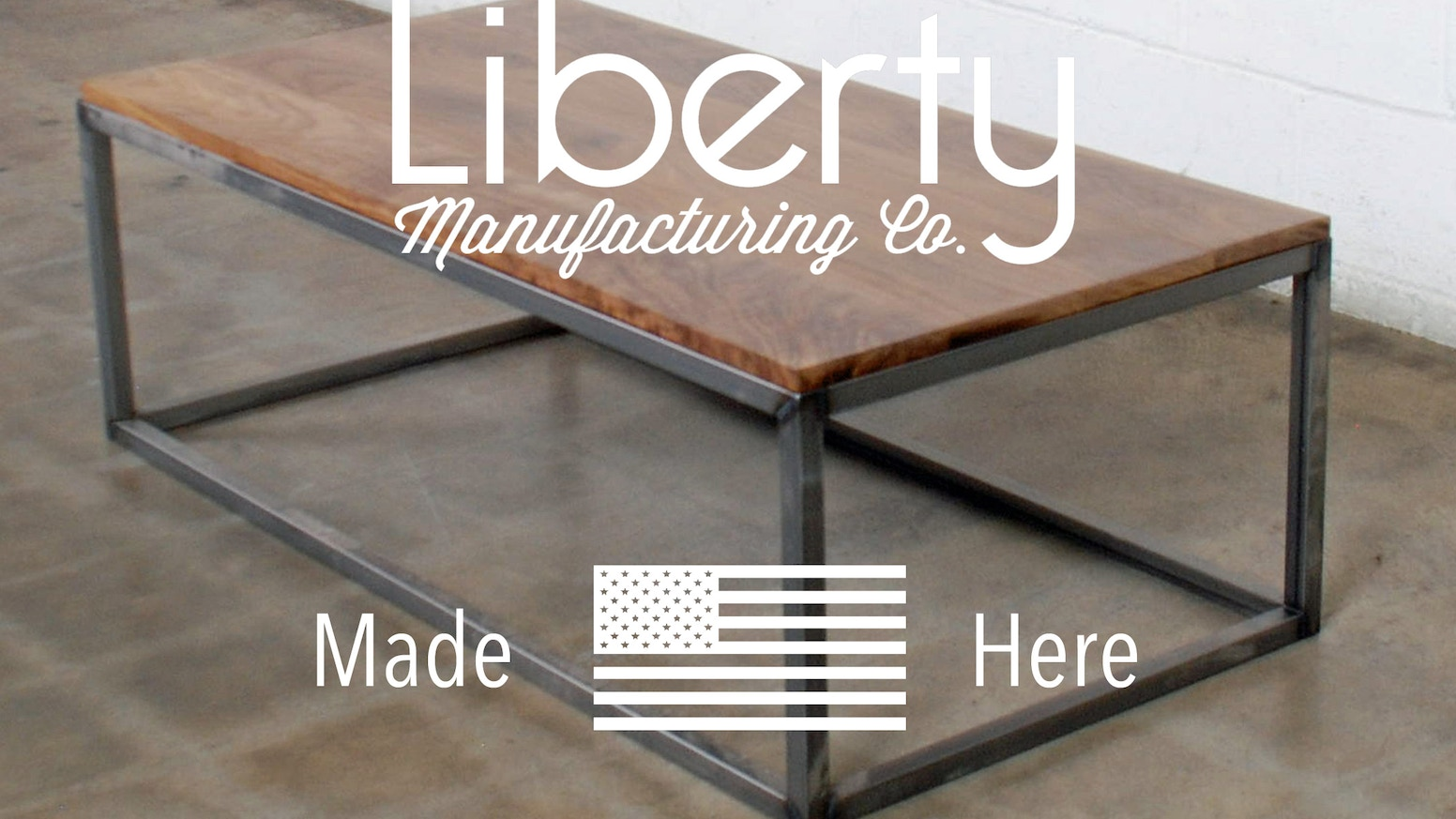 Industrial-strength, industrial-style coffee tables and end tables. Designed and manufactured in Los Angeles, California.