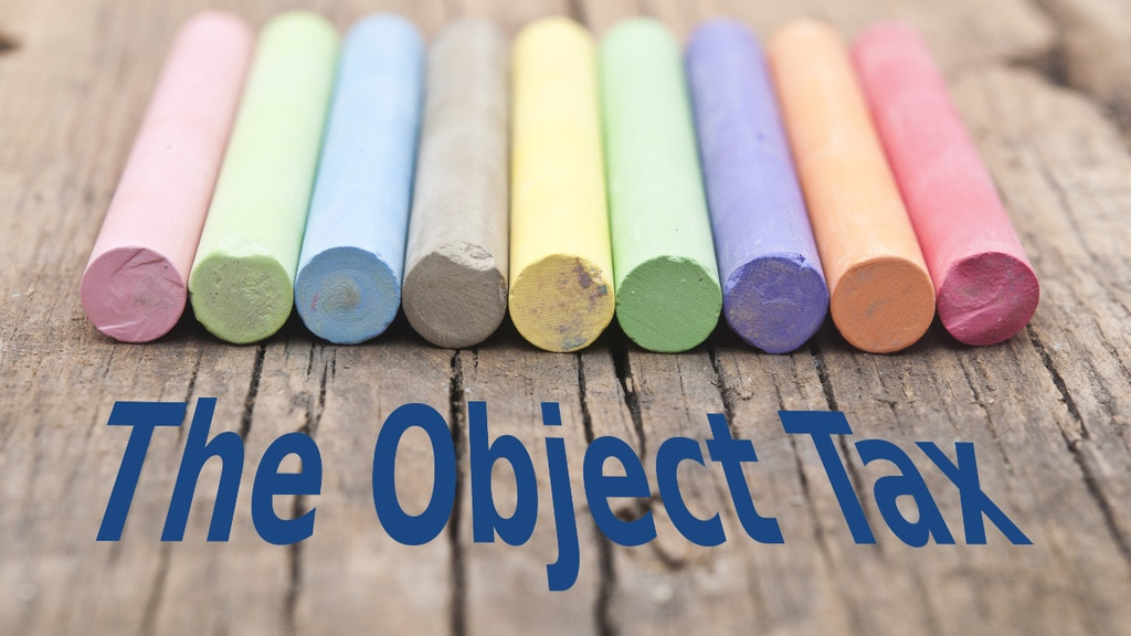 Project image for The Object Tax