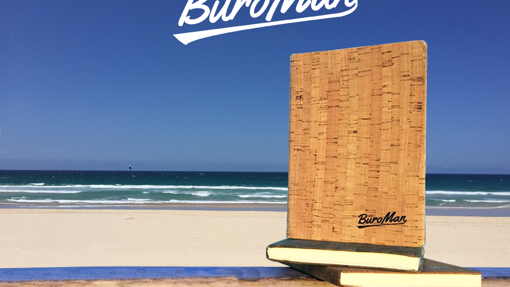 BüroMan Notebook - The Ultimate Men's Notebook project video thumbnail