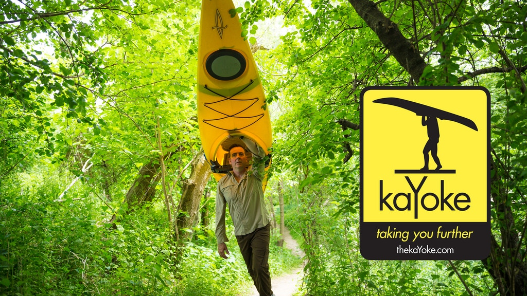 KaYoke - a lightweight, compact system to transport a kayak. project video thumbnail